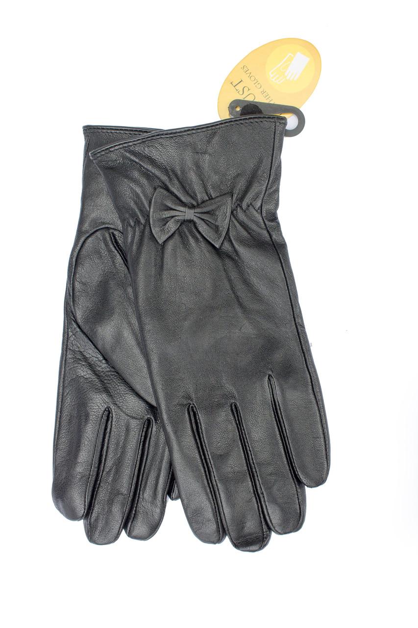 Женские кожаные перчатки 308