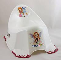 Горшок Tega Little Princess LP-001 антискользящий белый