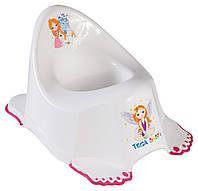Горшок Tega Little Princess PO-049 антискользящий music белый