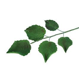 Декор кондитерський Добрик Гілка листочків троянди L-150