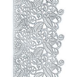 Декор кондитерський Добрик Мереживо для торта №3 бірюзове 10 шт./ящ.