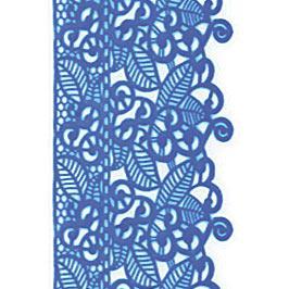 Декор кондитерський Добрик Мереживо для торта №3 блакитне 10 шт./ящ.