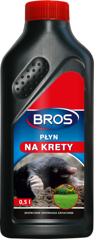 Жидкость для отпугивания кротов Bros 500 мл