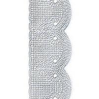 Декор кондитерський Добрик Мереживо для торта №4 бірюзове 10 шт./ящ.