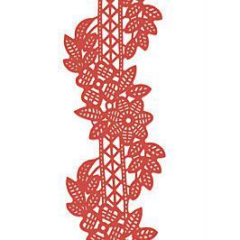 Декор кондитерський Добрик Мереживо для торта №5 червоне 10 шт./ящ.
