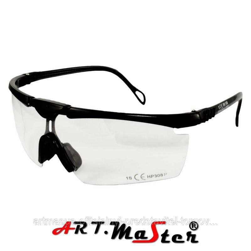 Противоосколочные защитные очки B308p с прозрачной линзой ARTMAS