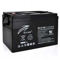 Аккумуляторная батарея CARBON RITAR DC12-100C, Gray Case, 12V 100.0Ah, 2000-5000 циклов, до 15 лет срок службы, ( 328 х 172 х 215 (220) ) Q1
