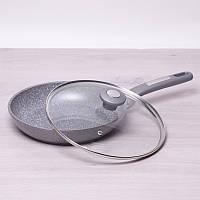 Сковорода с гранитным покрытием 22 см Kamille 4270 GR