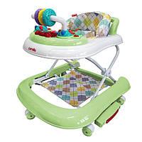 Детские Ходунки CARRELLO CRL-9603/2 Green Первые шаги 3 в 1