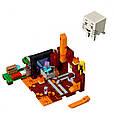 """Конструктор лего майнкрафт Аналог Lego Minecraft Bela 10812 """"Портал в Нижний мир"""" 477 дет, фото 3"""