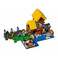 """Конструктор лего майнкрафт Аналог Lego Minecraft Bela 10813 """"Фермерский коттедж"""" 560 дет, фото 2"""