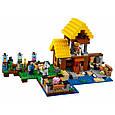 """Конструктор лего майнкрафт Аналог Lego Minecraft Bela 10813 """"Фермерский коттедж"""" 560 дет, фото 3"""