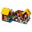 """Конструктор лего майнкрафт Аналог Lego Minecraft Bela 10813 """"Фермерский коттедж"""" 560 дет, фото 4"""