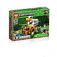 "Конструктор Майнкрфт ""Курятник"" Lepin 18035 (аналог Lego Minecraft, лего майнкрафт 21140) 222 дет, фото 2"
