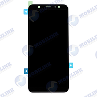 Дисплей Samsung A6 Plus A605F Чёрный Black GH97-21878A оригинал!, фото 1