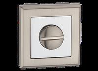 Накладка WC-фіксатор MVM T7 SN/CP - матовий нікель/хром