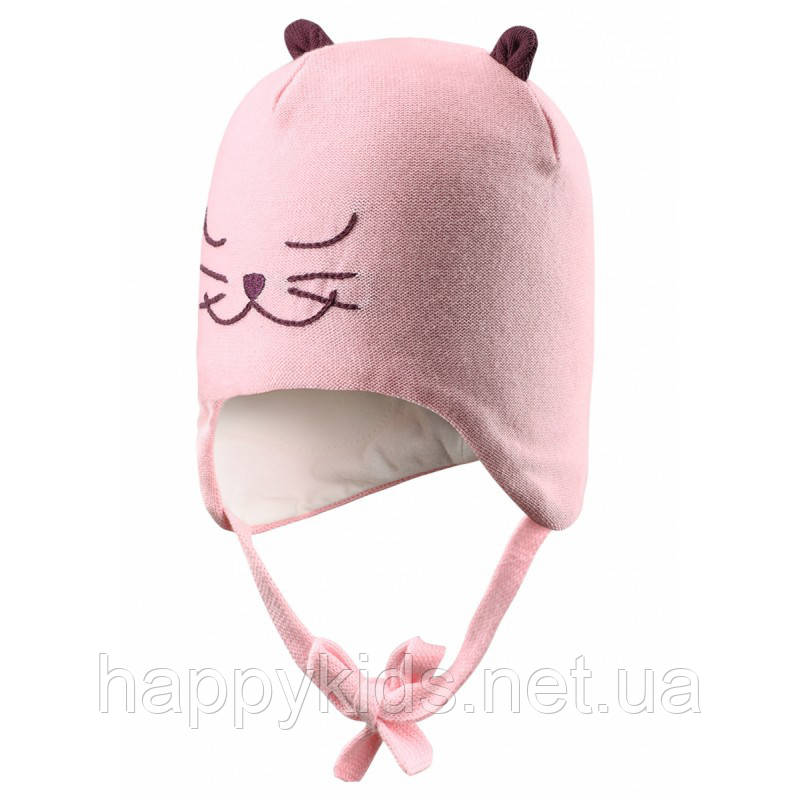 Демисезонная шапка для девочки Lassie by Reima 718714-4070. Размеры XXS - М.