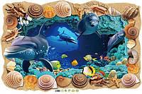 Наклейка виниловая Море