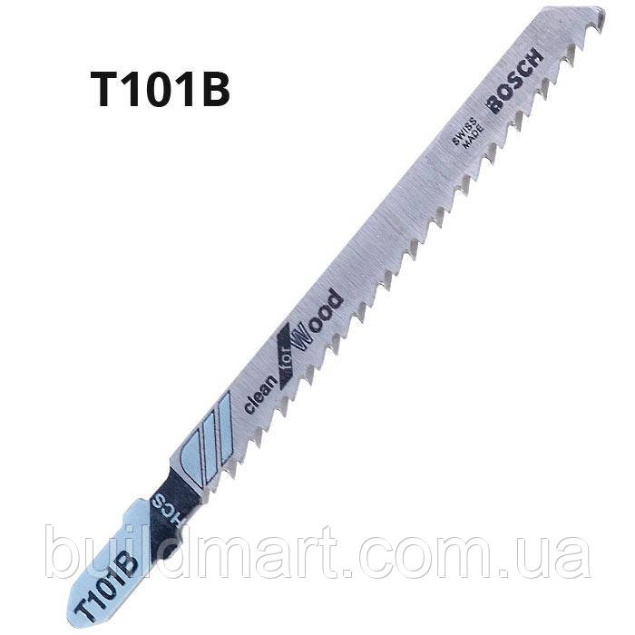 Пилка для электролобзика по дереву T101B BOSCH (5шт.)