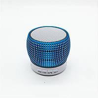 Портативная bluetooth MP3 колонка SPS S34U BT blue