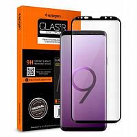 Защитное стекло Spigen для Samsung S9 Full Cover, Black (592GL22820)