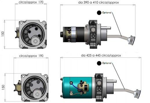Электронасос E.P.K.STD 3000W 24V OMFB