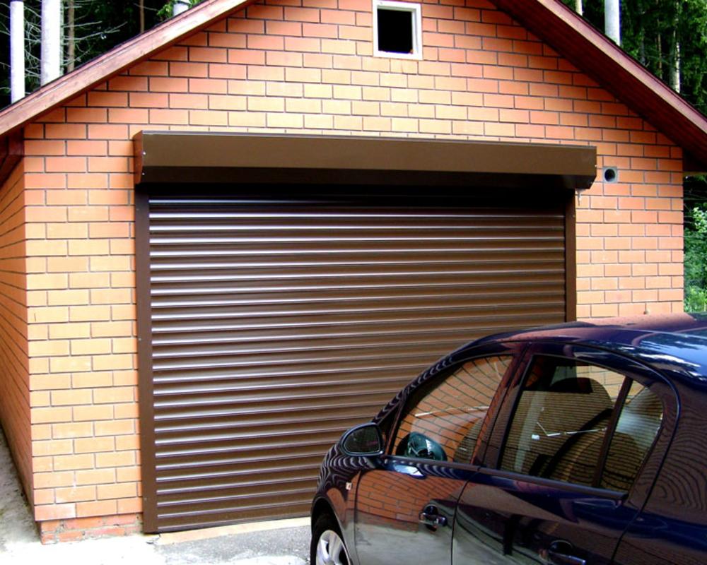 Рольставни для гаража