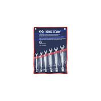 Набор ключей рожково-торцевых с карданом 6ед KING TONY 1B06MR