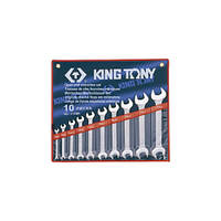 Набор ключей рожковых 10 ед.KING TONY 1110MR