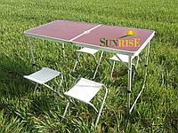Набор садовой мебели для пикника стол со стульями. SunRise, фото 1