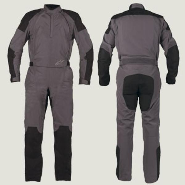 "Комбинезон Alpinestars Oversuit BLACK\GRAY текстиль ""XXL"""