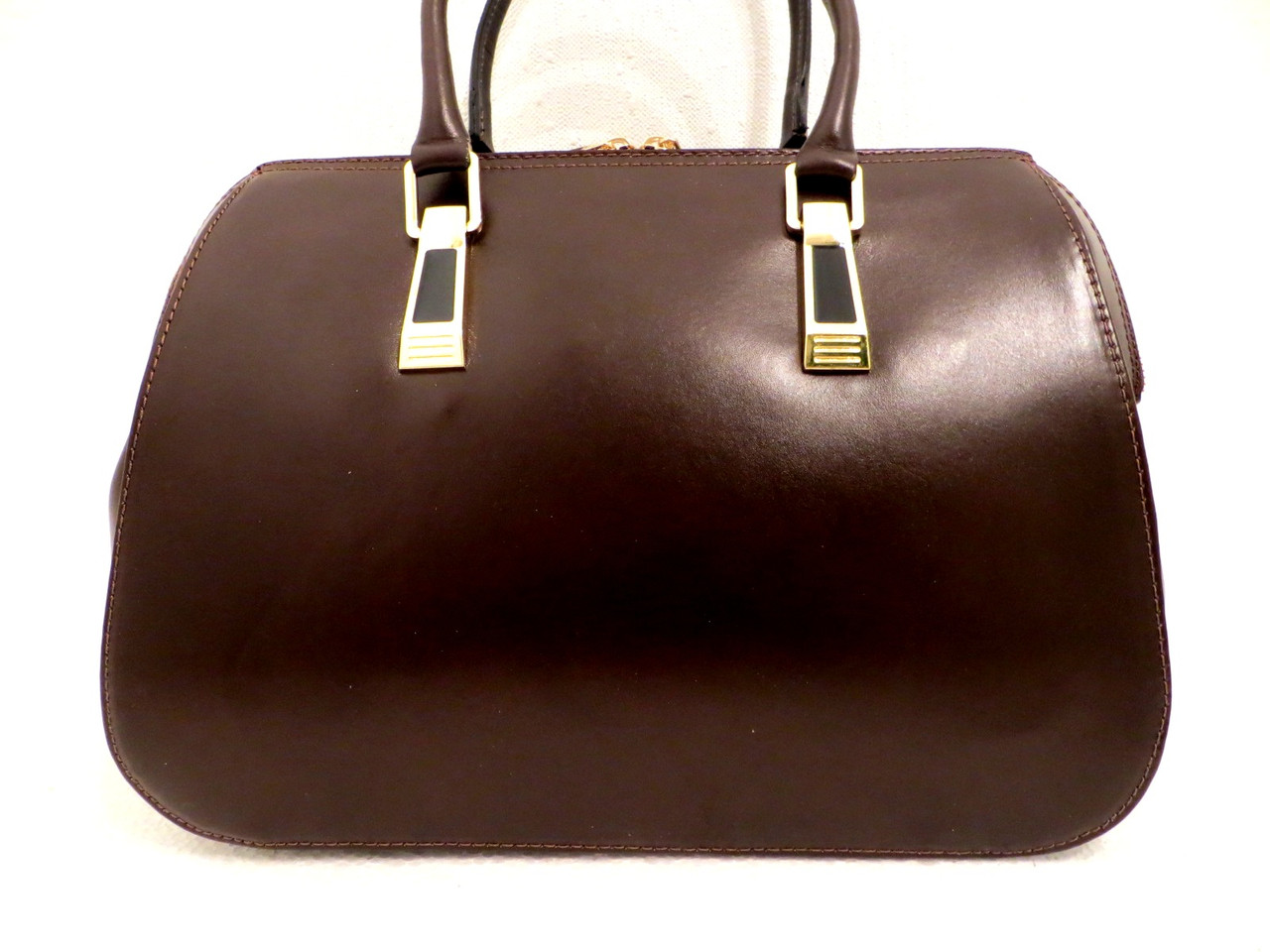 Деловая женская сумка. Натуральная кожа. Италия, фото 1