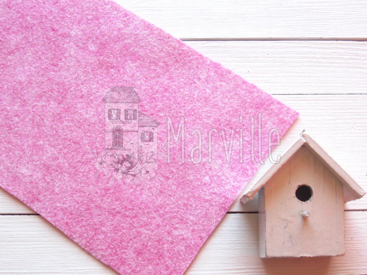 Фетр американский мягкий  Розовый пикси (2337 Pixie Pink)
