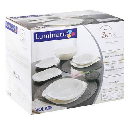 Столовый сервиз на 6 персон из 19 предметов Luminarc Volare Bone G5350, фото 2