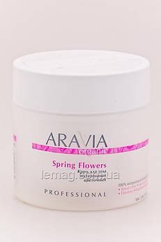 """ARAVIA Professional Organic Крем для тела питательный цветочный """"Spring Flowers"""", 300 мл"""