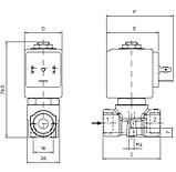 212A Клапан соленоидный / электромагнитный ODE , фото 2