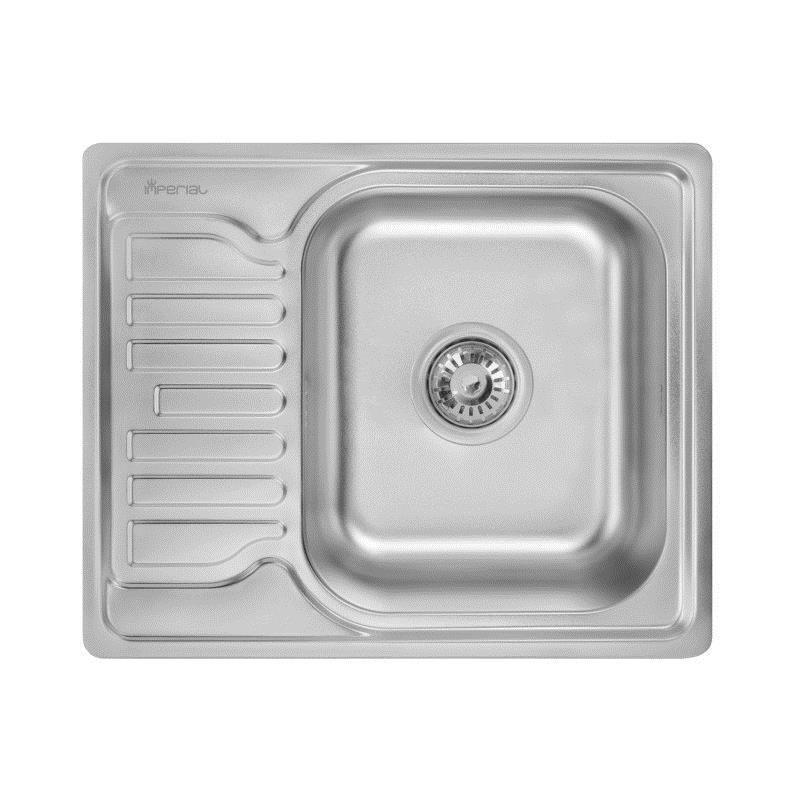 Мойка кухонная Imperial нержавейка 5848 Decor 0,8 мм