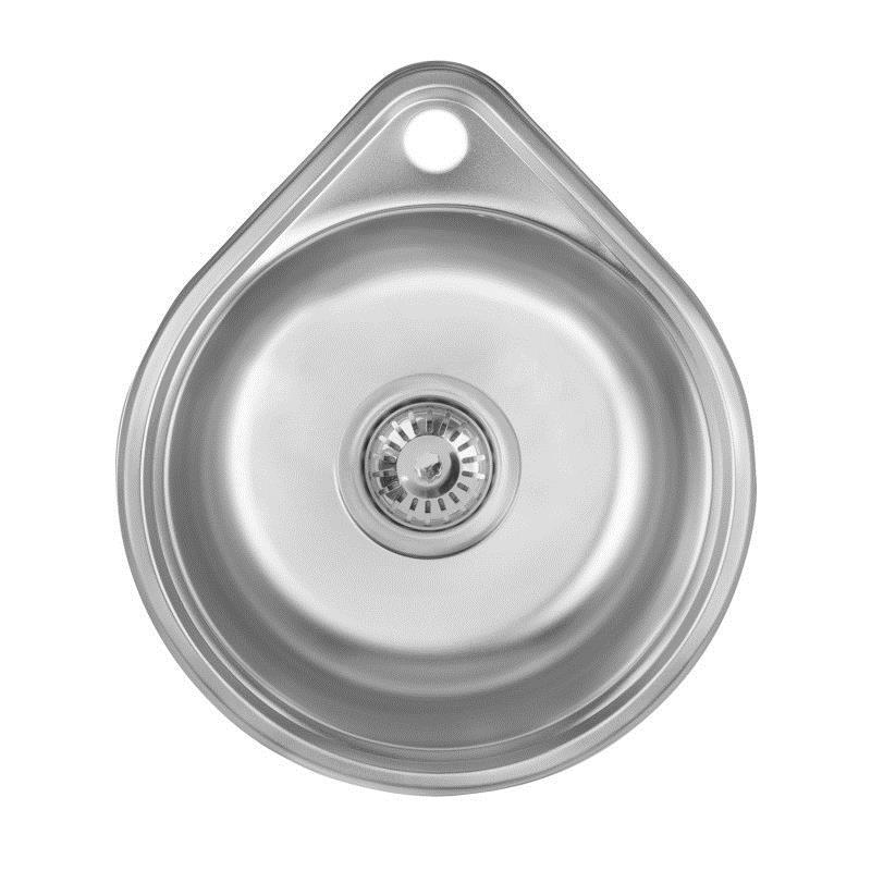 Мойка кухонная Imperial нержавейка 4843 Decor 0,8 мм