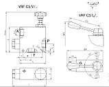 Трехховой распределительный клапан Hydropnevmotechnika VRF\C3, фото 2