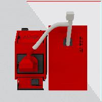 Котел твердотопливный Альтеп КТ-3Е-PG 40 кВт