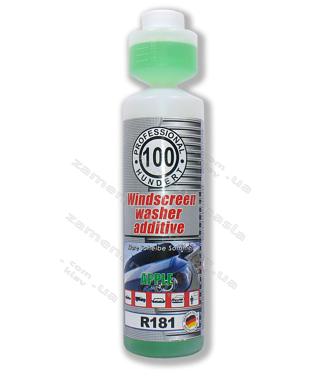 HUNDERT R181 APPLE 1:100 - концентрат летнего омывателя