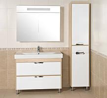 Зеркало АКВА РОДОС Ника 95 венге со шкафчиком, фото 3