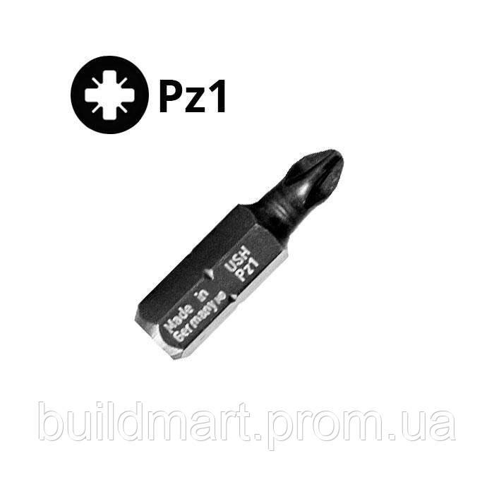 Бита для шуруповерта PZ1 25 мм. USH