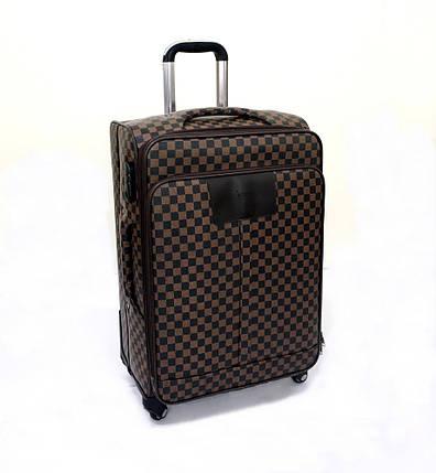 Чемодан большой в стиле Louis Vuitton (не оригинал) из высококачественной искусственной кожи, фото 2