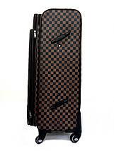 Чемодан большой в стиле Louis Vuitton (не оригинал) из высококачественной искусственной кожи, фото 3