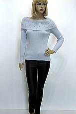 Джемпер жіночий з відкритими плечами Park hande, фото 3