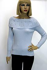 Джемпер жіночий з відкритими плечами Park hande, фото 2