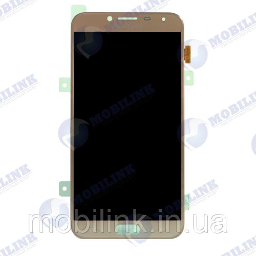 Дисплей на Samsung J4(2018) J400 Золото(Gold), GH97-21915B, оригинал!