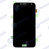 Дисплей Samsung J4 2018 J400F Чёрный Black GH97-21915A оригинал!