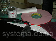 3M VHB 4950F - Двухсторонний скотч, сверхпрочный, белый, толщина 1,1 мм, фото 2
